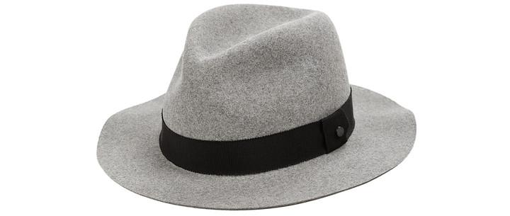 С чем носить: шляпа-федора