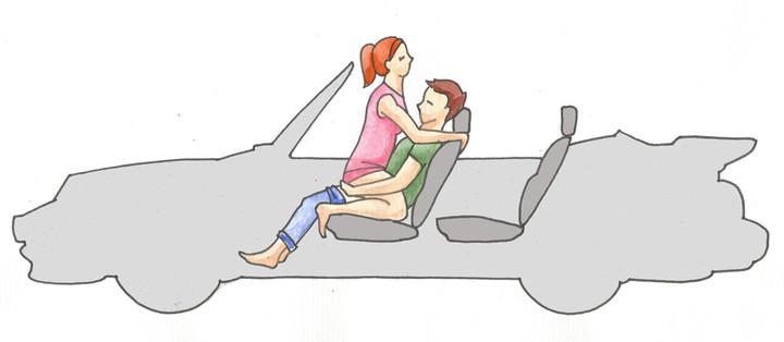 Секс в машине: лучшие позы