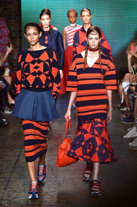 Неделя моды в Нью-Йорке: спорт, женственность и геометрия