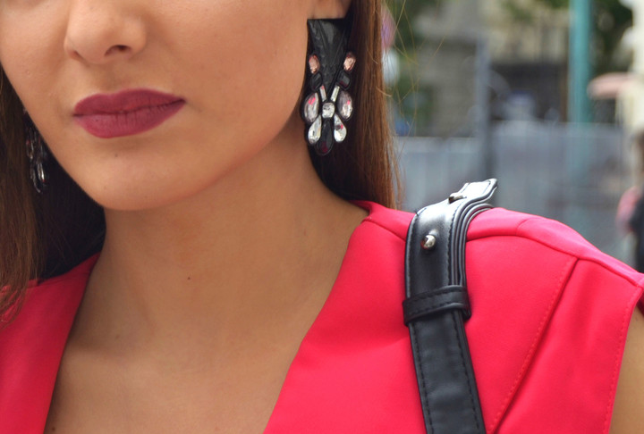 Мода из народа: черно-розовый контраст