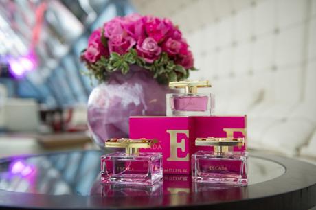 Бар Рафаэли представила новый аромат ESPECIALLY ESCADA в Москве