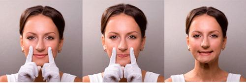 Делаем лицо: точечный массаж (ФОТО)