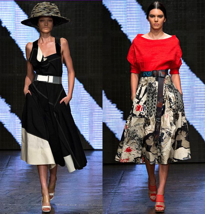Неделя моды в Нью-Йорке: военное положение