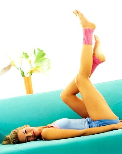 «Диванный» фитнес: упражнения для ленивых