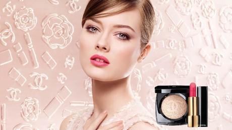 Весенний макияж Chanel