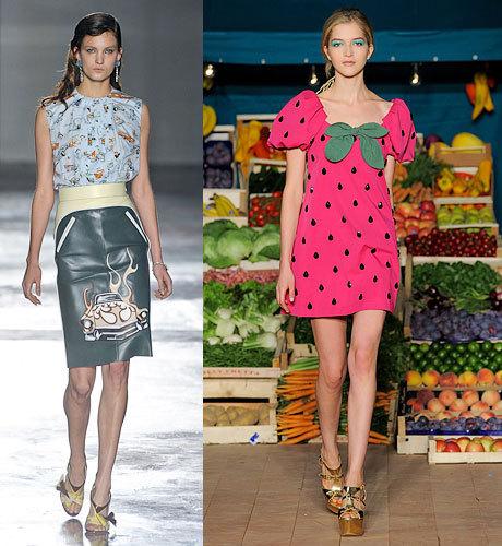 Неделя моды в Милане. Весна—лето 2012 (ФОТО)