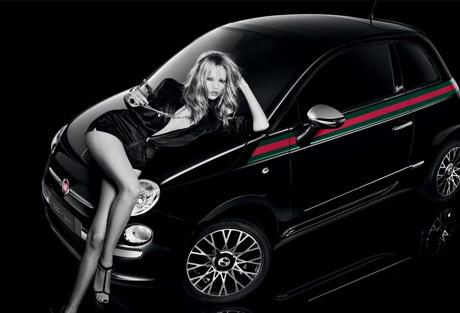 Наташа Поли снялась в рекламе Gucci Fiat