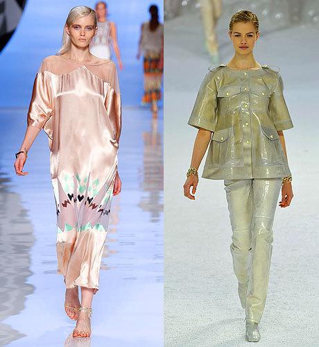 Модные тенденции весны—лета 2012