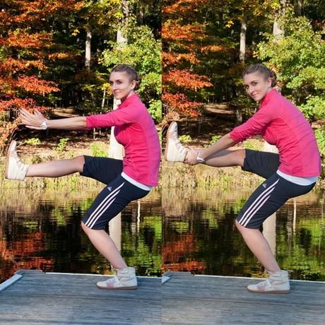 Фитнес-инструкция: попа, как орех