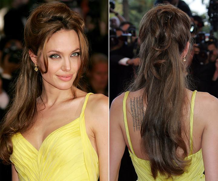5 новогодних причесок для длинных волос