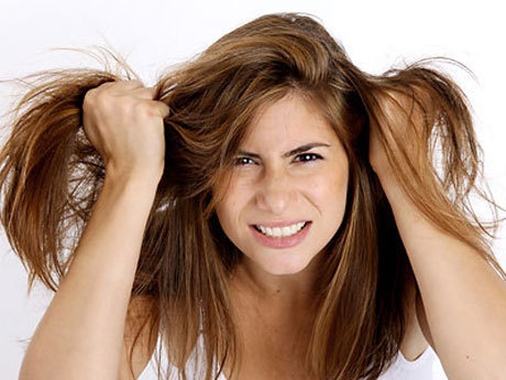 Спасаем волосы от стресса
