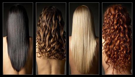 Слегка вьющиеся волосы: выпрямление и локоны