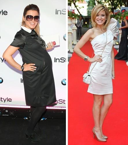 Как похудеть после родов: секреты звезд