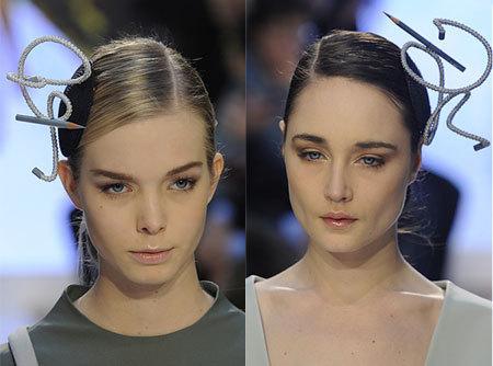 Украшаем волосы: заколки, ленты, ободки (ФОТО)
