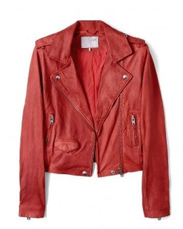 С чем носить: кожаная куртка